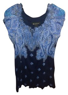 INC International Concepts Paisley Floral Tunic