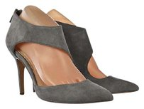 INC International Concepts Womens Stiletto Heels Suede Gray Pumps