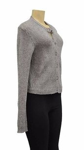 Inhabit Cashmere Button Front Cropped 200053aj Sweater