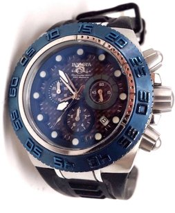 Invicta Invicta 10866 Subaqua Sport Chronograph Blue Carbon Fiber Dial Mens Watch