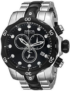 Invicta Invicta Mens 5727 Reserve Collection Black Ion-plated And Links Missing