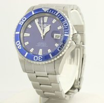 Invicta Invicta Mens Wristwatch Stainless Steel Automatic Professional Water Resistant