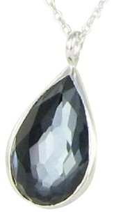 Ippolita Ippolita Rock Candy Hematite Doublet Sterling Pear Necklace