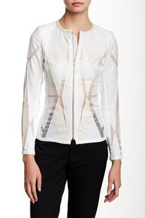IRO Ivory Allegra Sheer White Jacket