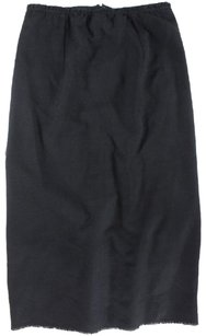 Isabel Marant 42 Black Shn Skirt