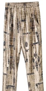 Isabel Marant Baggy Pants Gold Metallic