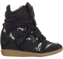 Isabel Marant Black/Flowers/Multi Boots