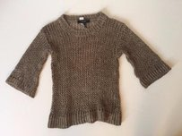 Isabel Marant Linen Slouchy Crewneck 364 Sweater