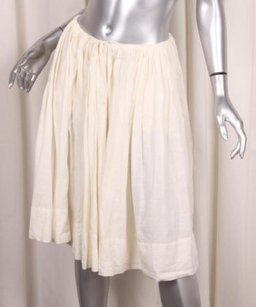 Isabel Marant Womens Full Circle Drawstring Waist 364 Skirt Ivory