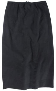 Isabel Marant Straight Pencil Skirt Black