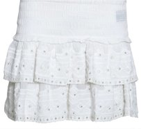 Isabel Marant Studded Mini Skirt White