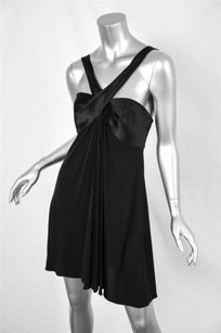 ISSA London short dress Black Womens Halter on Tradesy