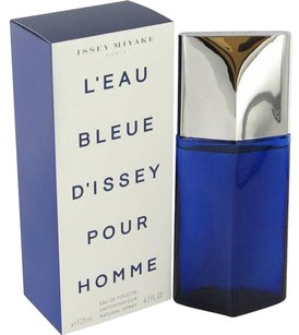 Issey Miyake L'EAU BLEUE D'ISSEY POUR HOMME EDT Spray for Men ~ 4.2oz / 125ml