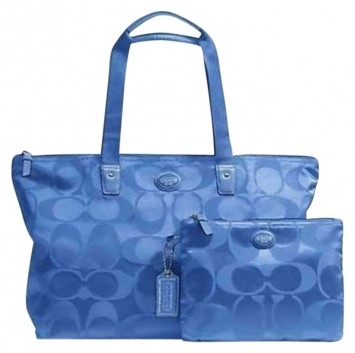 Coach Weekend Totes blue light Travel Bag