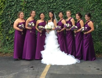 Allure Bridesmaids Grape 1278 (floor Length) Dress