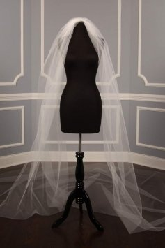Bridal Cathedral Length Veil S1200vl