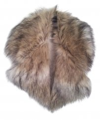 ASOS oversized faux fur collar