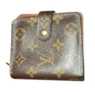 Louis Vuitton Monogram Snap Front Wallet