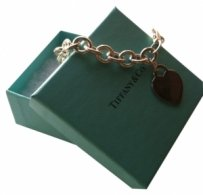 Tiffany & Co. Tiffany & Co. Heart Tag Charm Bracelet