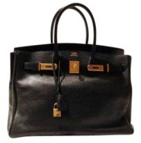 Hermes Tote in Black