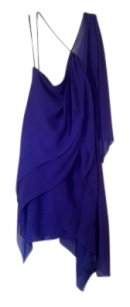 BCBG Max Azria One Shoulder Goddess Dress
