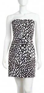 Laundry by Shelli Segal short dress Black White on Tradesy