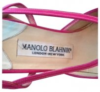 Manolo Blahnik Hot PInk Formal