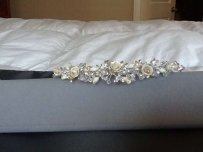 Bagatelle Silver Tiara With Roses And