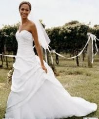 David's Bridal T9669 Wedding Dress