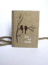 Wedding Rustic Old Style Photo Album On