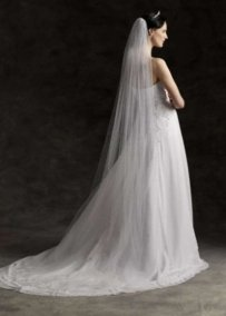 Ivory Cathedral Length Veil