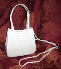 Bridal Handbag - White
