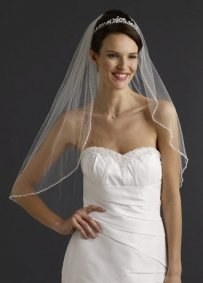 Bridal Elbow Veil