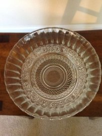 Round Glass Bowl