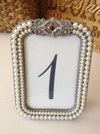 Pearl And Jewel Table Numbers - 10