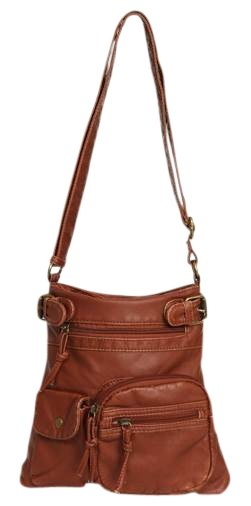 Zip Pocket Crossbody Bag Wet Seal 13