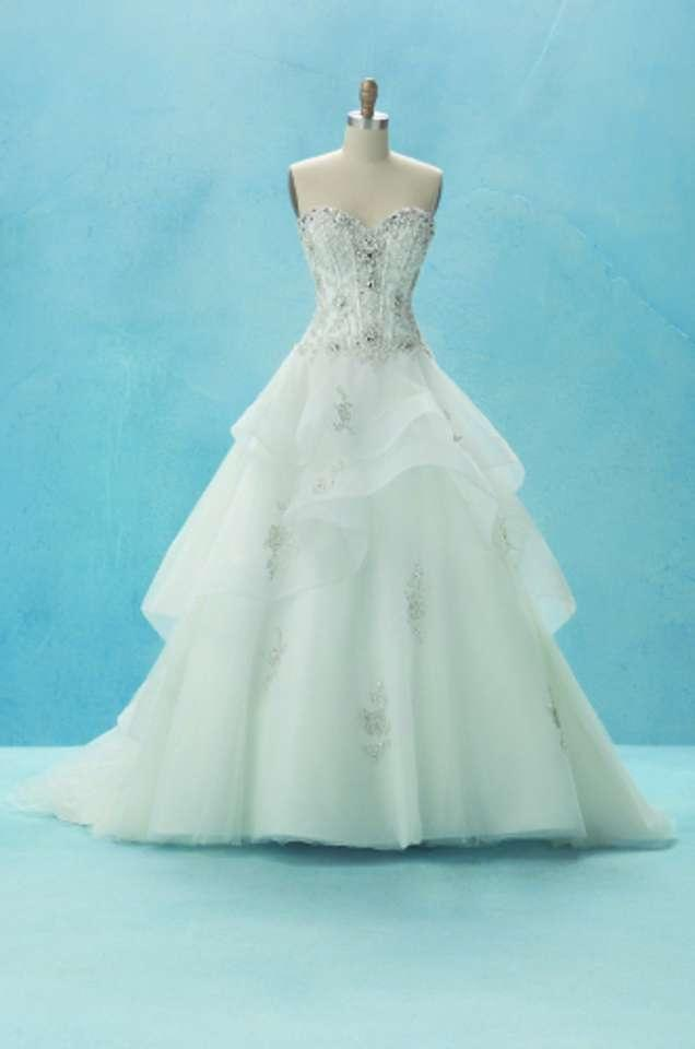 alfred angelo belle disney princess line wedding dress