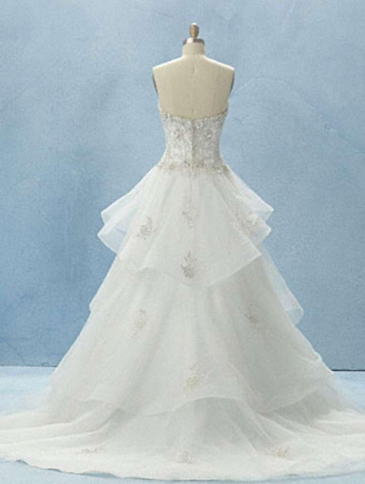 alfred angelo belle disney princess line wedding dress tradesy