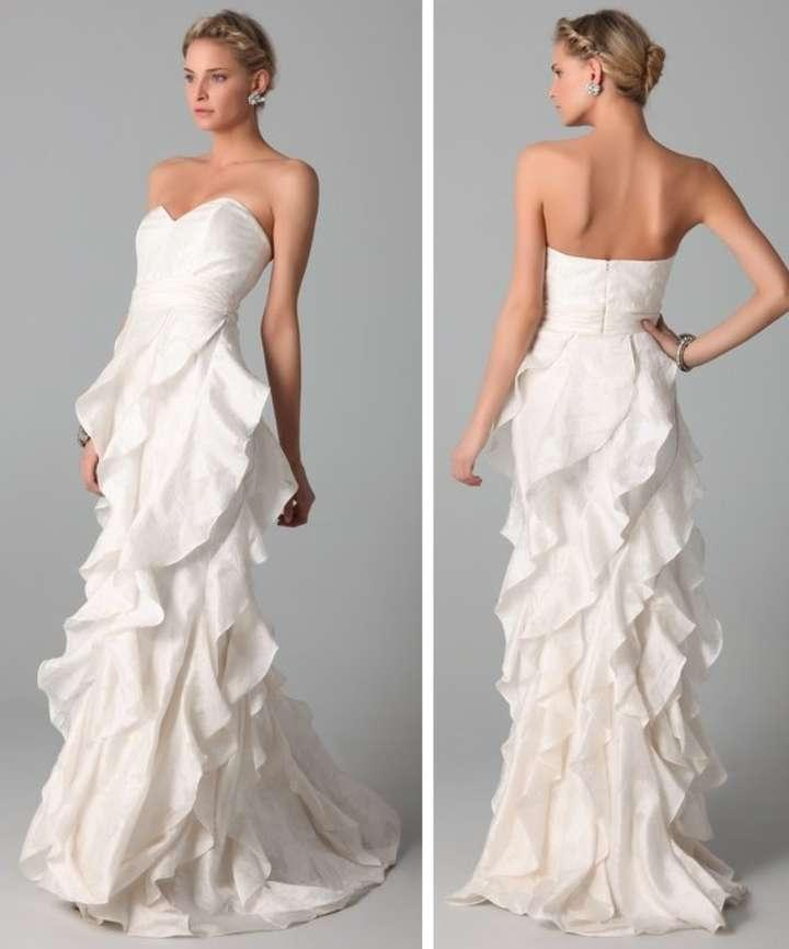 Badgley Mischka Wedding Gown: Badgley Mischka Badgely Mischka Collection Strapless Gown