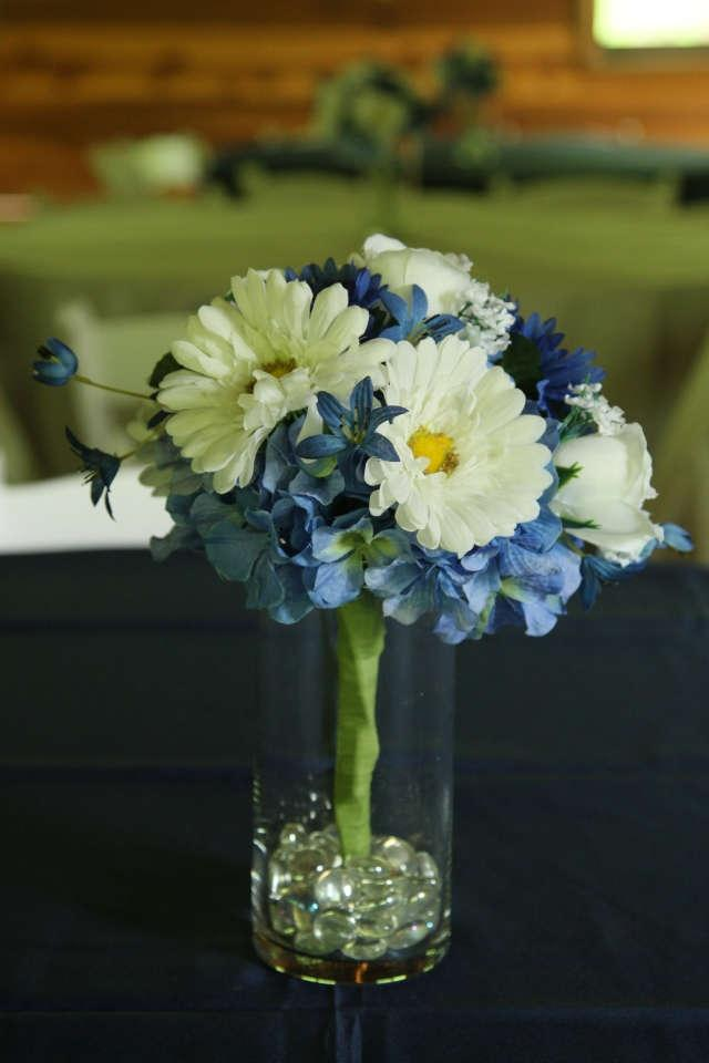 Royal blue wedding flower centerpieces search results