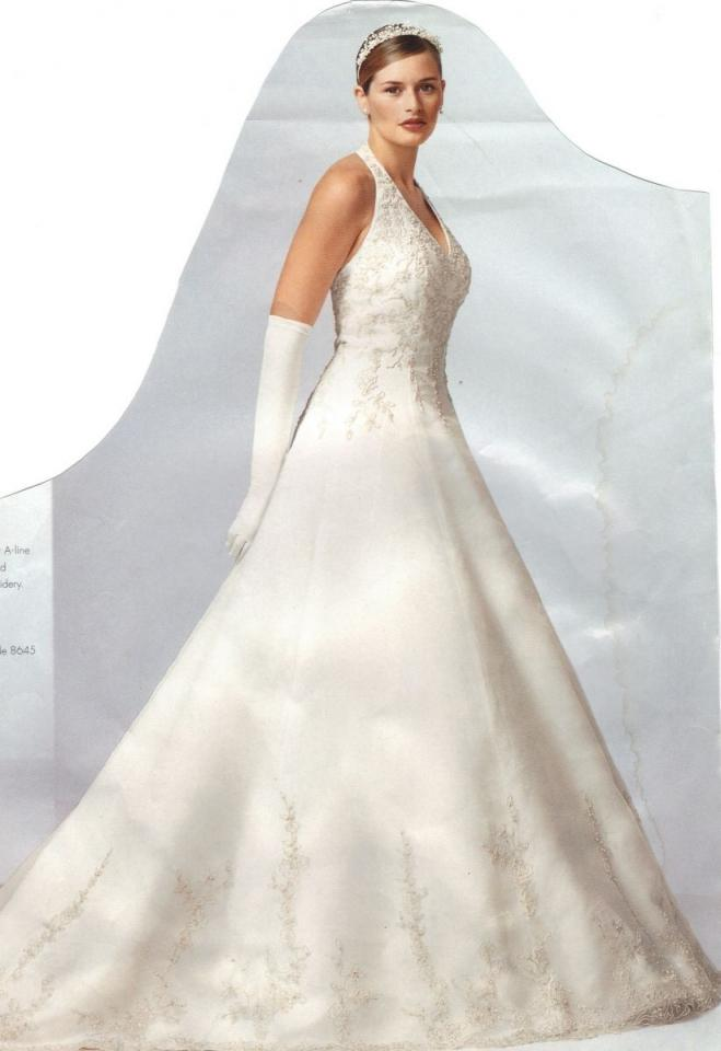 David 39 s bridal st tropez wedding dress tradesy weddings for St tropez wedding dress