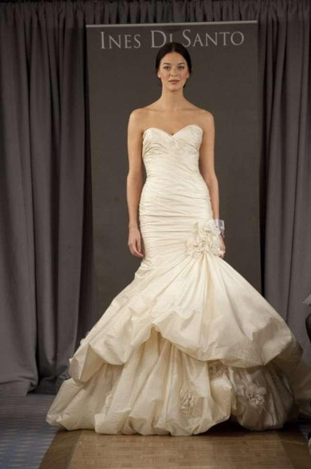 Ines di santo campania wedding dress tradesy weddings for Ines di santo wedding dresses prices