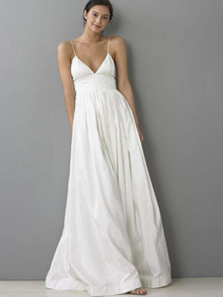 J crew principessa wedding dress tradesy weddings for J crew wedding dresses
