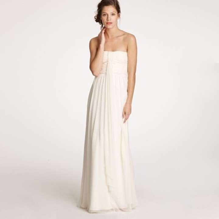 J crew whitney gown wedding dress tradesy weddings for J crew wedding dresses