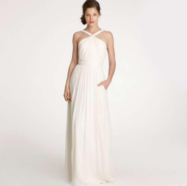 J crew sinclair wedding dress tradesy weddings for J crew wedding dresses