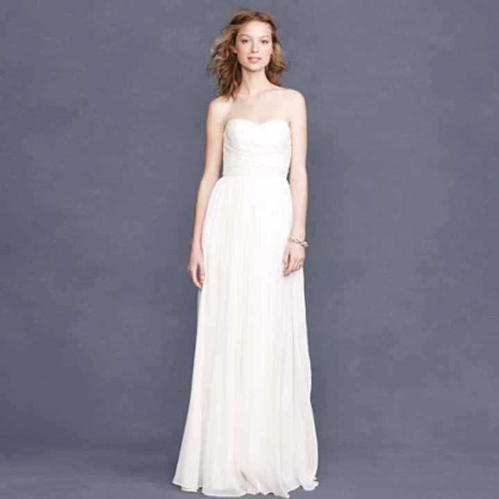 J crew arabelle wedding dress tradesy weddings for J crew wedding dresses
