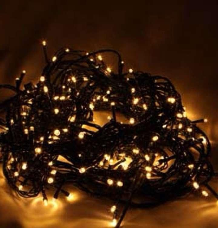 1200 led plug in low voltage string lights 8 functiond tradesy. Black Bedroom Furniture Sets. Home Design Ideas