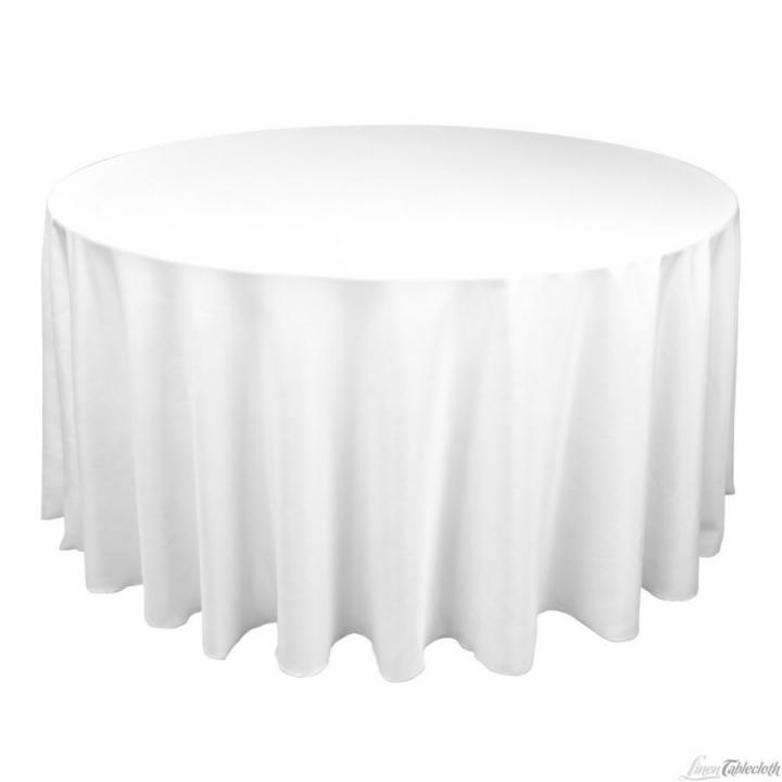 8 120 round white tablecloths sale pending 11 off