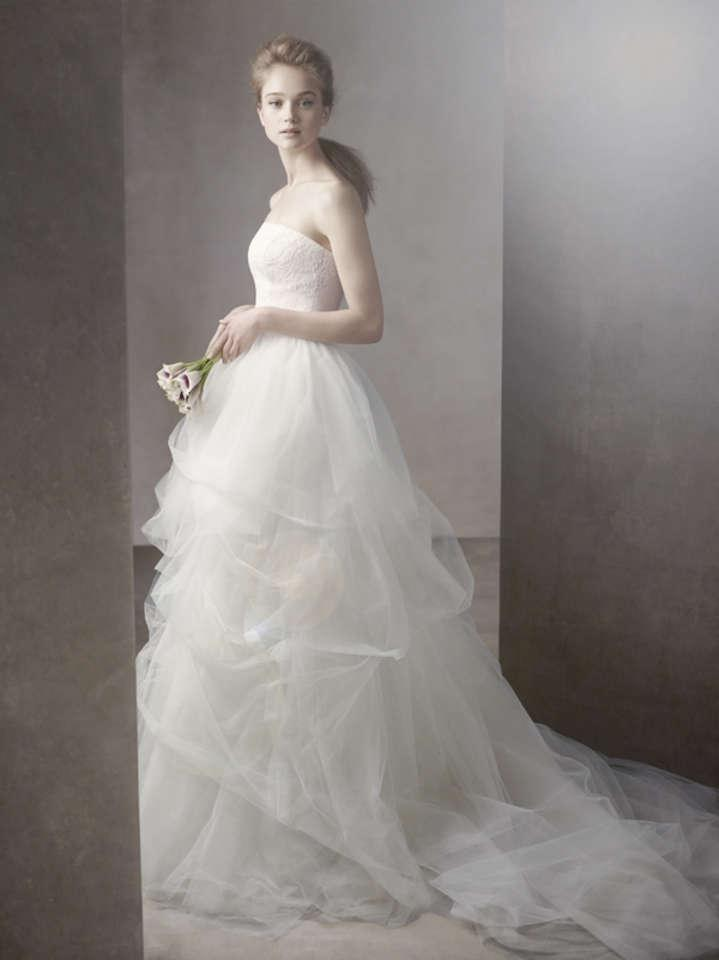 Ball Gown Wedding Dresses By Vera Wang : White by vera wang wedding dress g