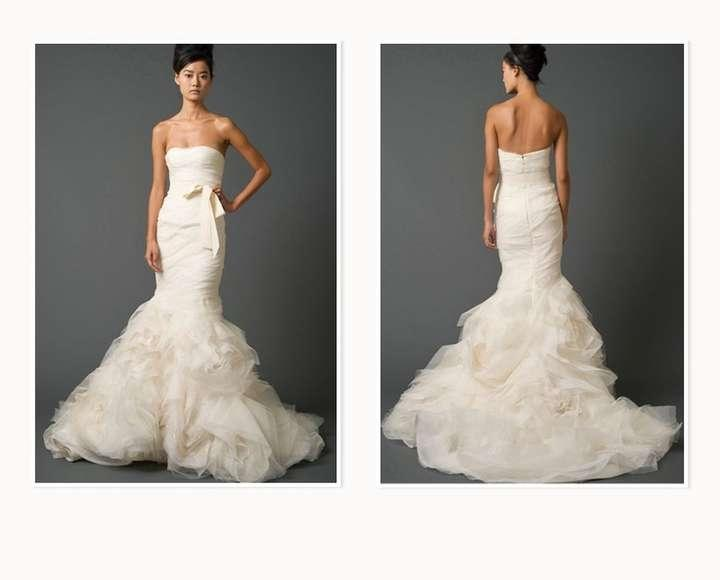 Vera wang gemma wedding dress tradesy weddings for Price of vera wang wedding dress
